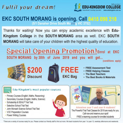 EDU Kingdom College South Morang